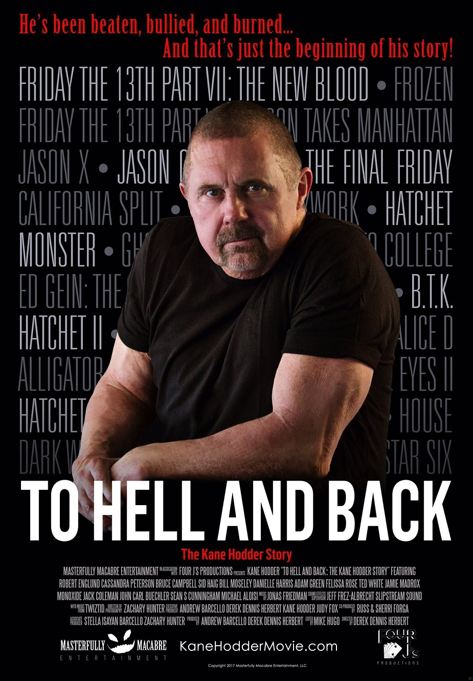 Kane Hodder Documentary Poster