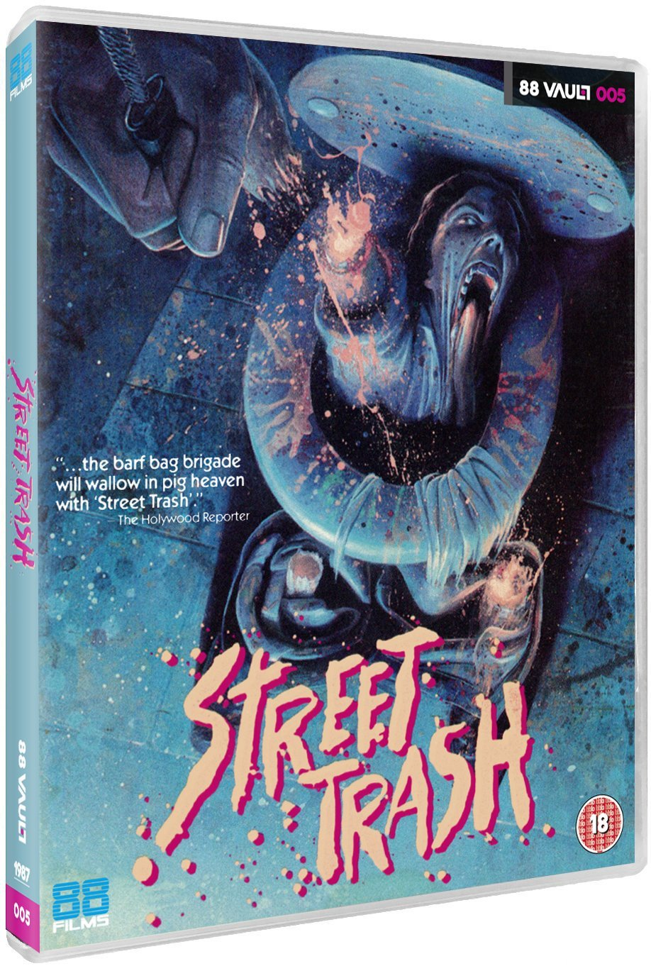 Street Trash UK Blu-Ray