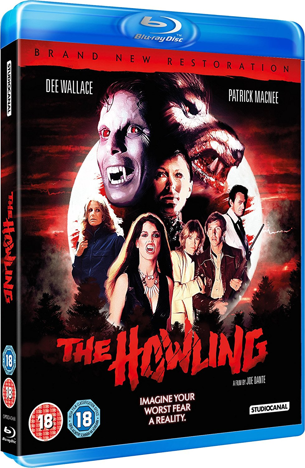 The Howling UK Blu-Ray