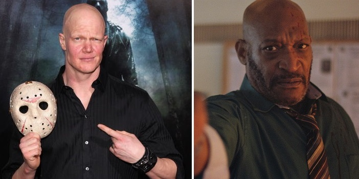 Tony Todd and Derek Mears
