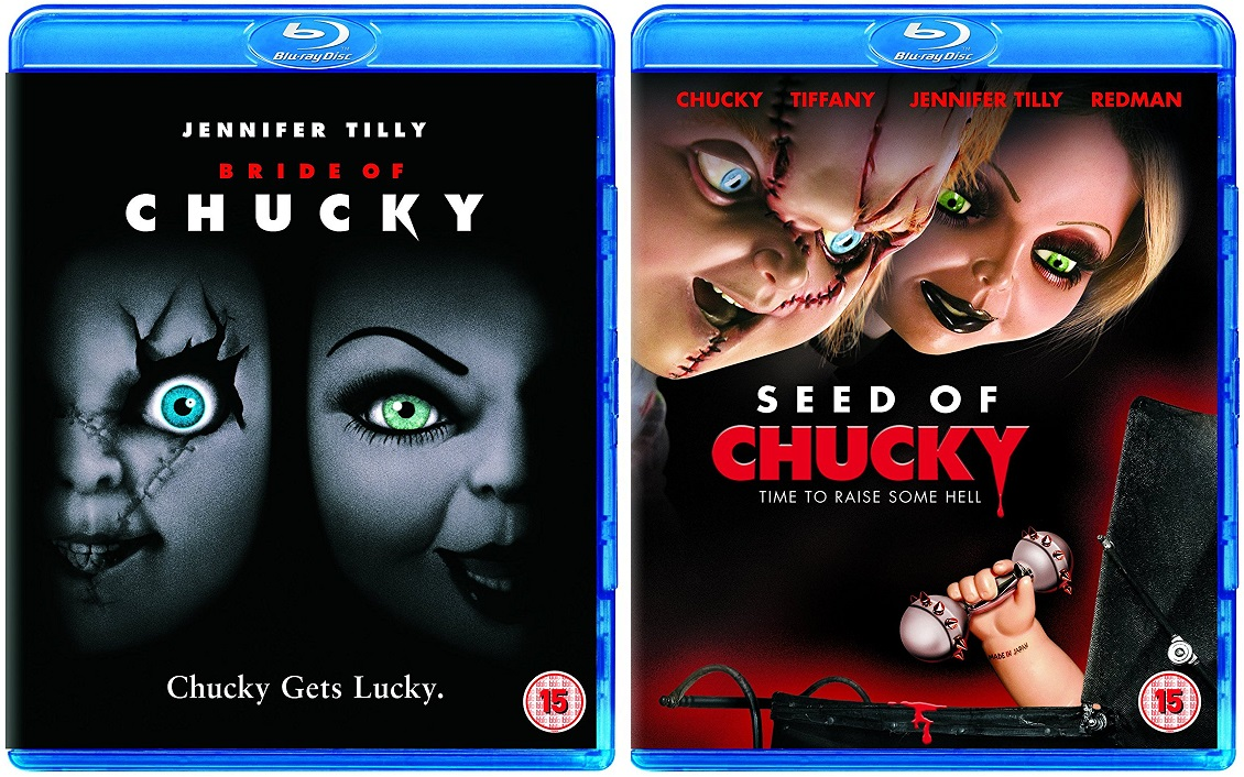 Bride of Chucky and Seed of Chucky UK Blu-Ray