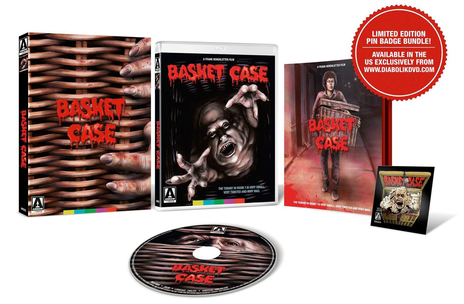 Basket Case 4K Blu Ray