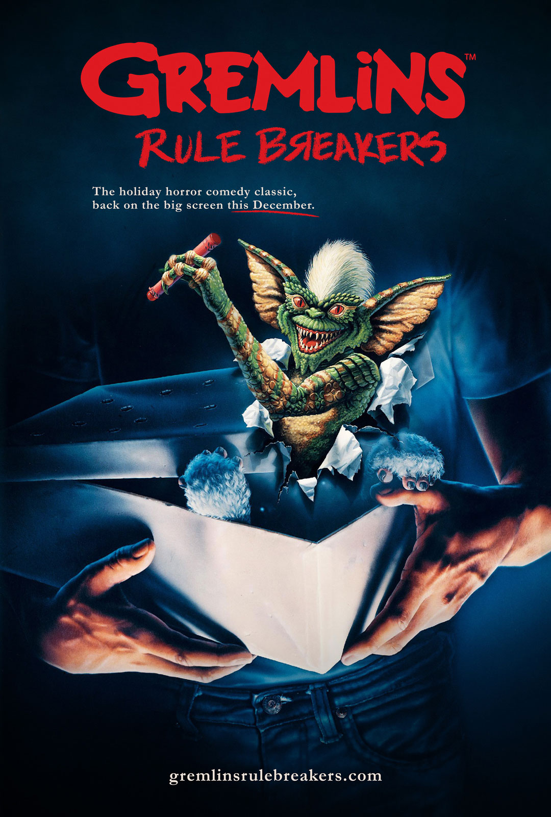 Gremlins Rule Breakers Poster