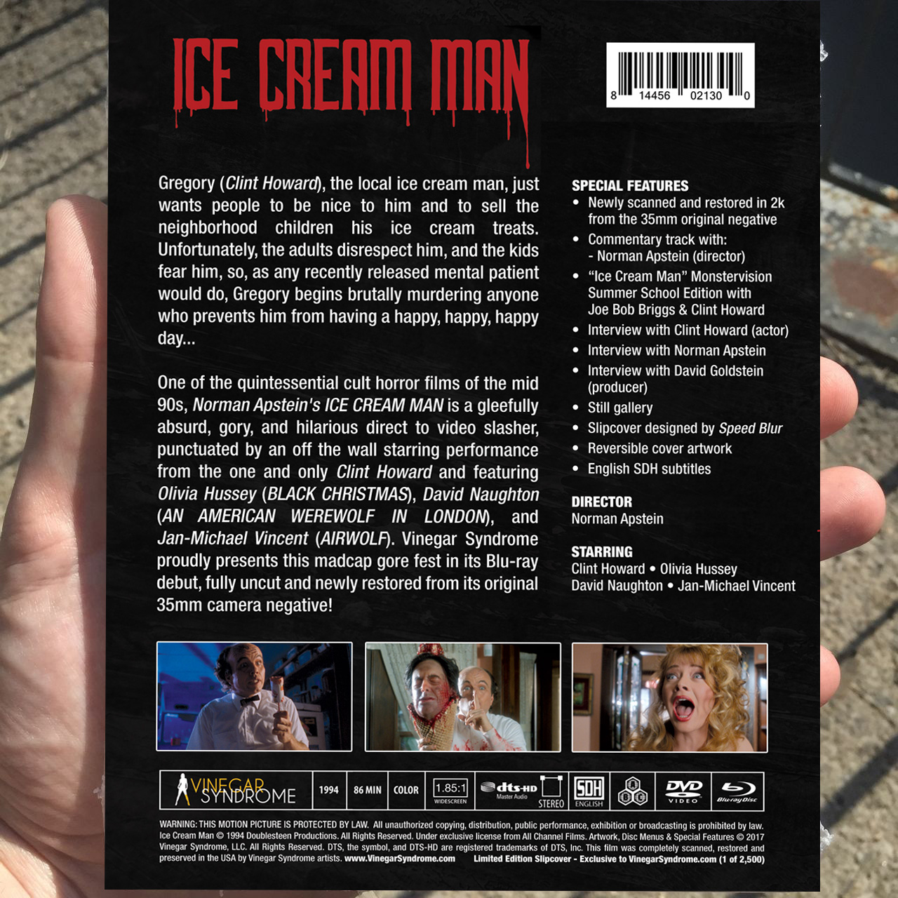 Ice Cream Man Back