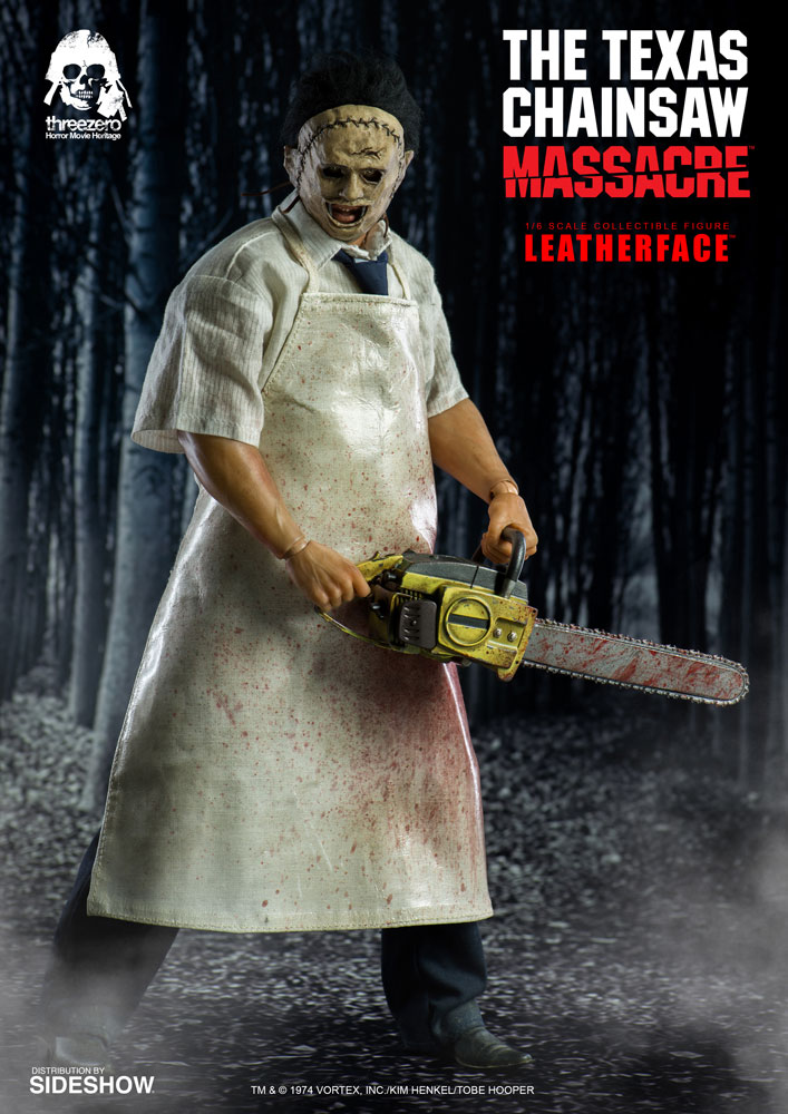Leatherface Sixth Scale Figure 1