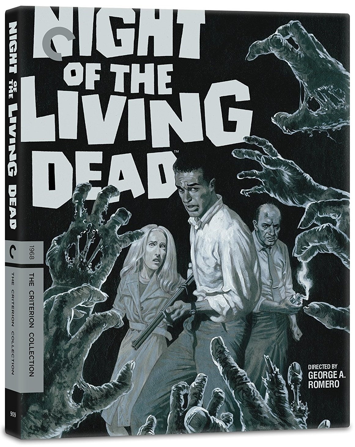 Night Of The Living Dead 4K UK Blu-Ray