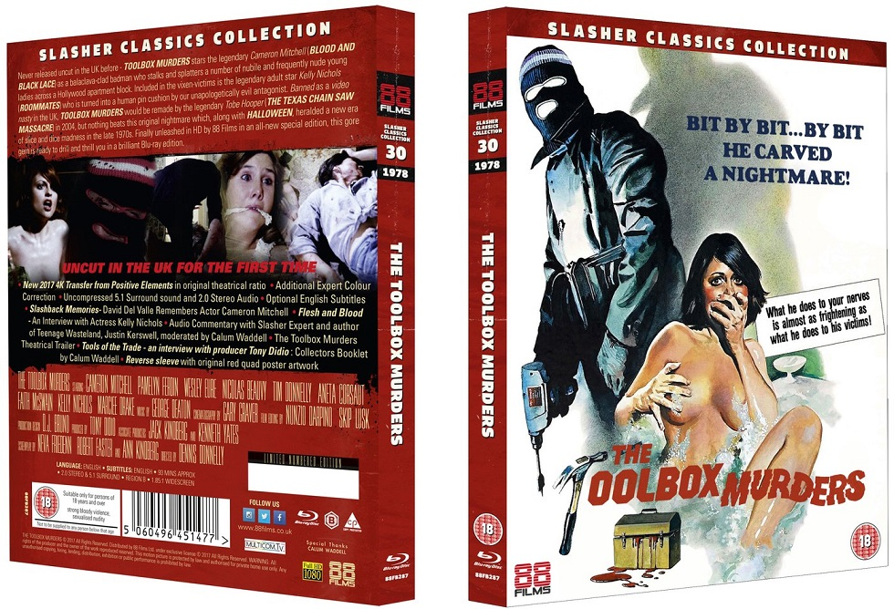 Toolbox Murders UK Blu-Ray