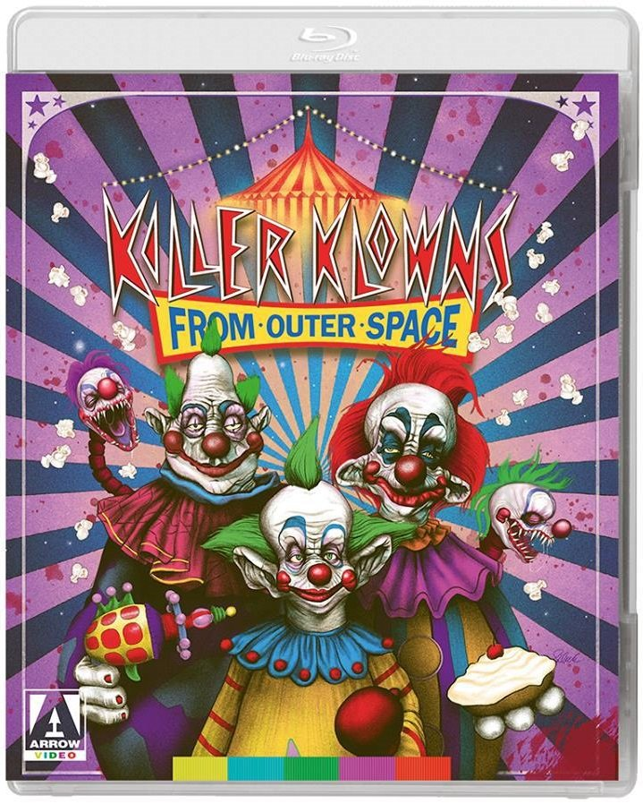 Killer Klowns from Outer Space 4K Blu-Ray