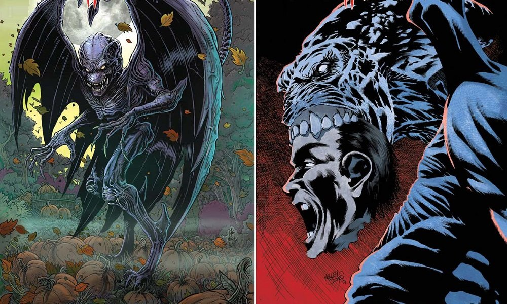 Pumpkinhead comic covers
