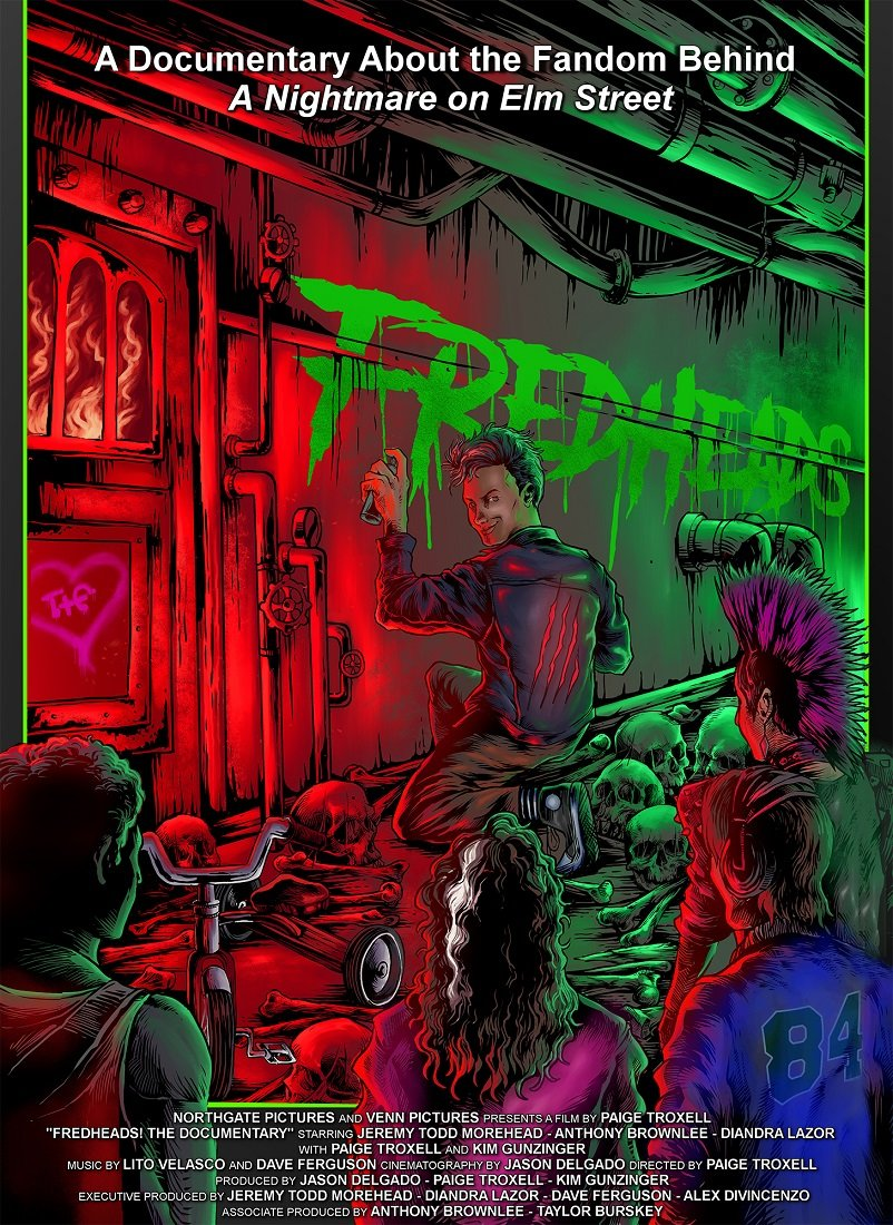 "Freddy Krueger Documentary ""FredHeads"" Art"