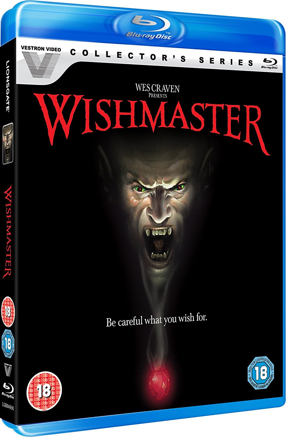 Wishmaster UK Blu-Ray
