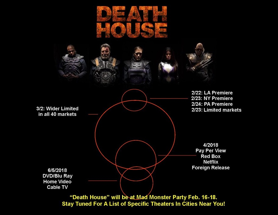 Death House Release Dates