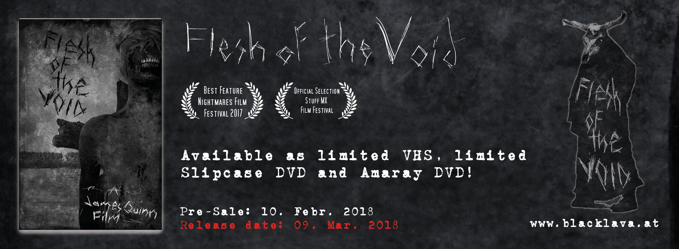 Flesh of the Void DVD