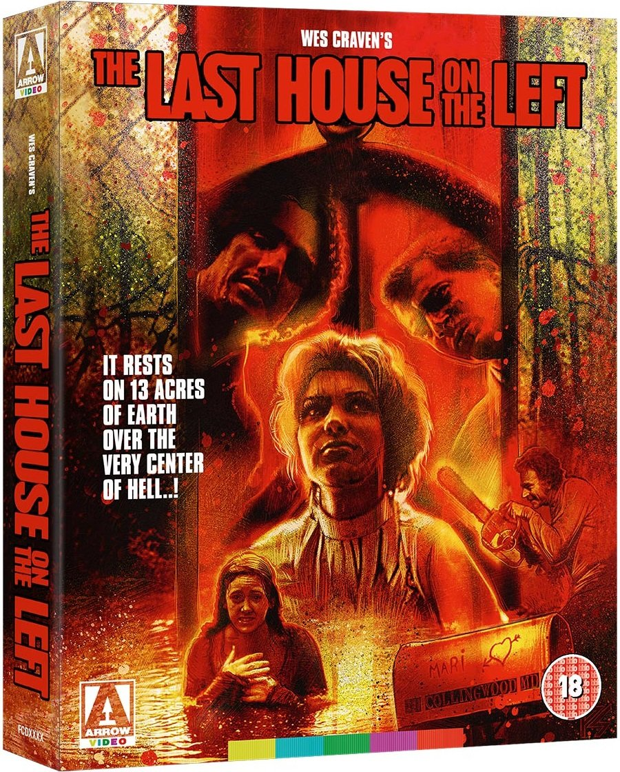 The Last House on the Left UK Blu-Ray