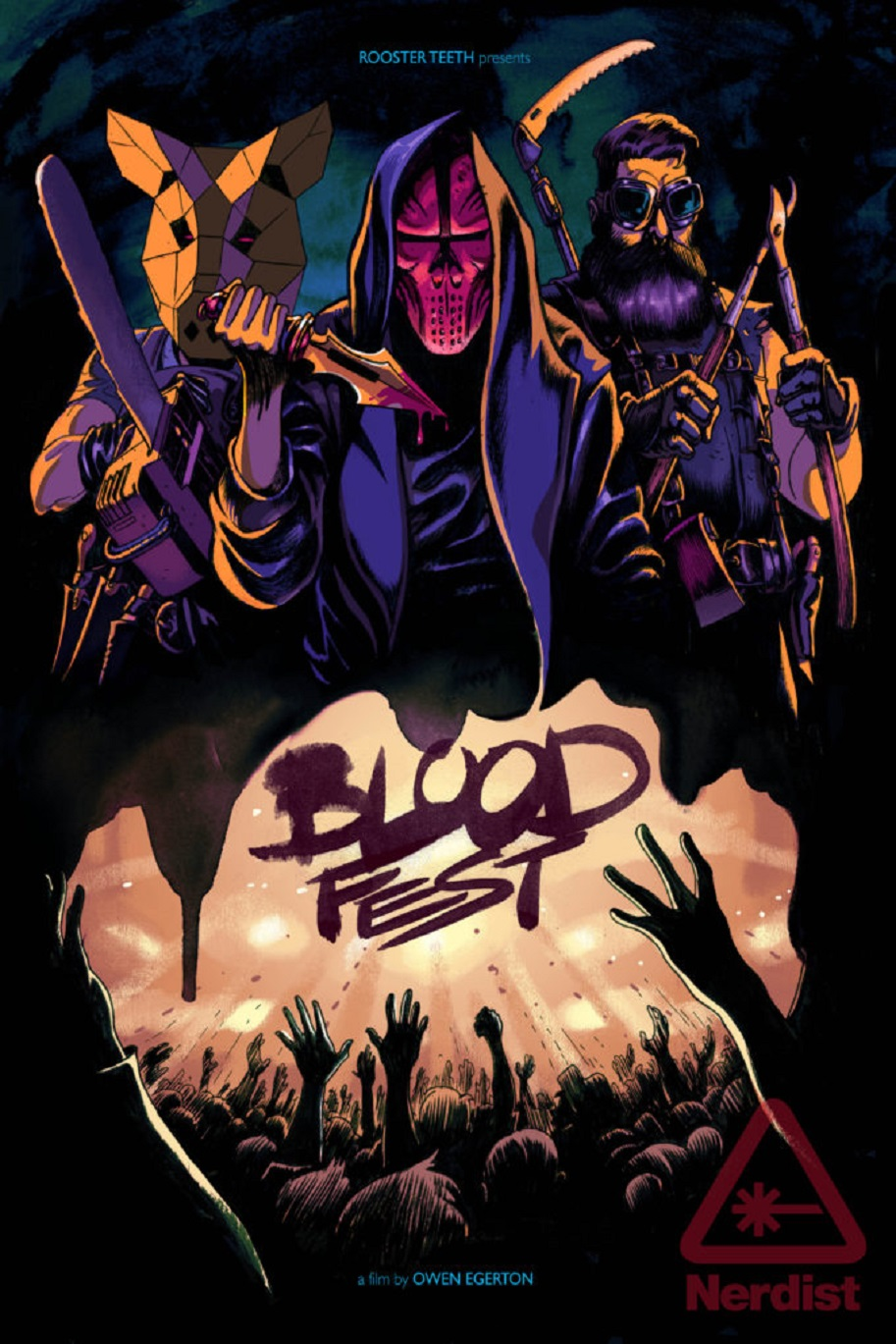 Blood Fest Poster Art