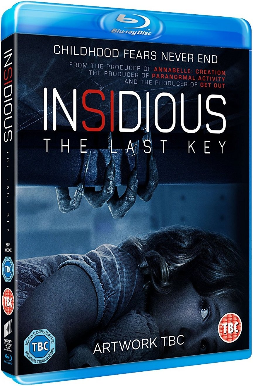 Insidious The Last Key UK Blu-Ray
