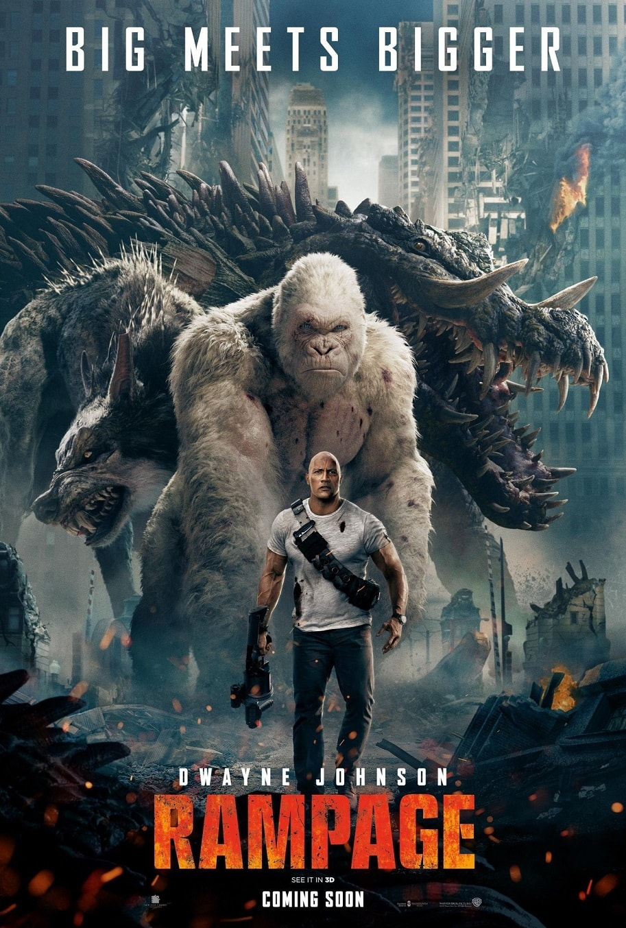 New Rampage Poster