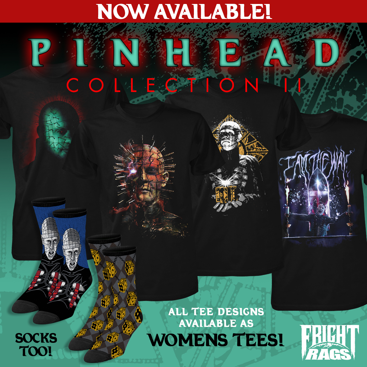 Pinhead Fright-Rags