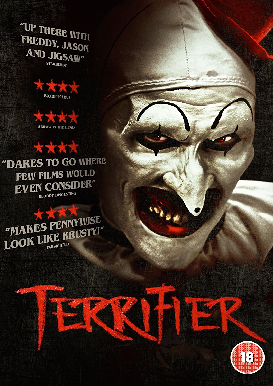 Terrifer UK DVD