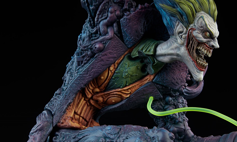 First Look at Sideshow Collectibles' Gotham City Nightmare Collection Joker Statue