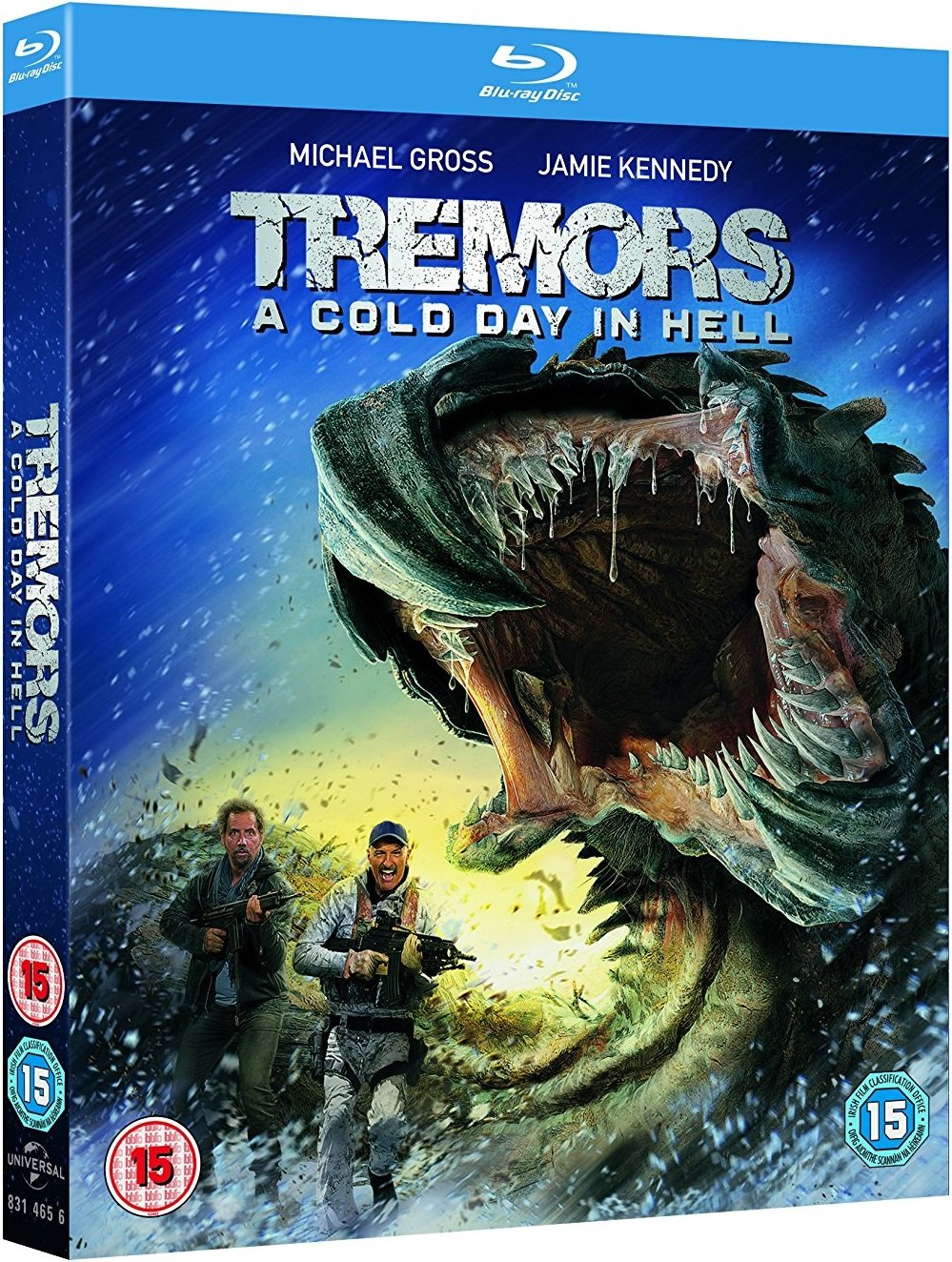 Tremors A Cold Day in Hell UK Blu-Ray