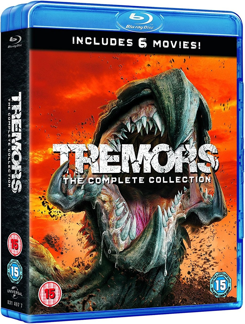 Tremors Complete Collection UK Blu-Ray