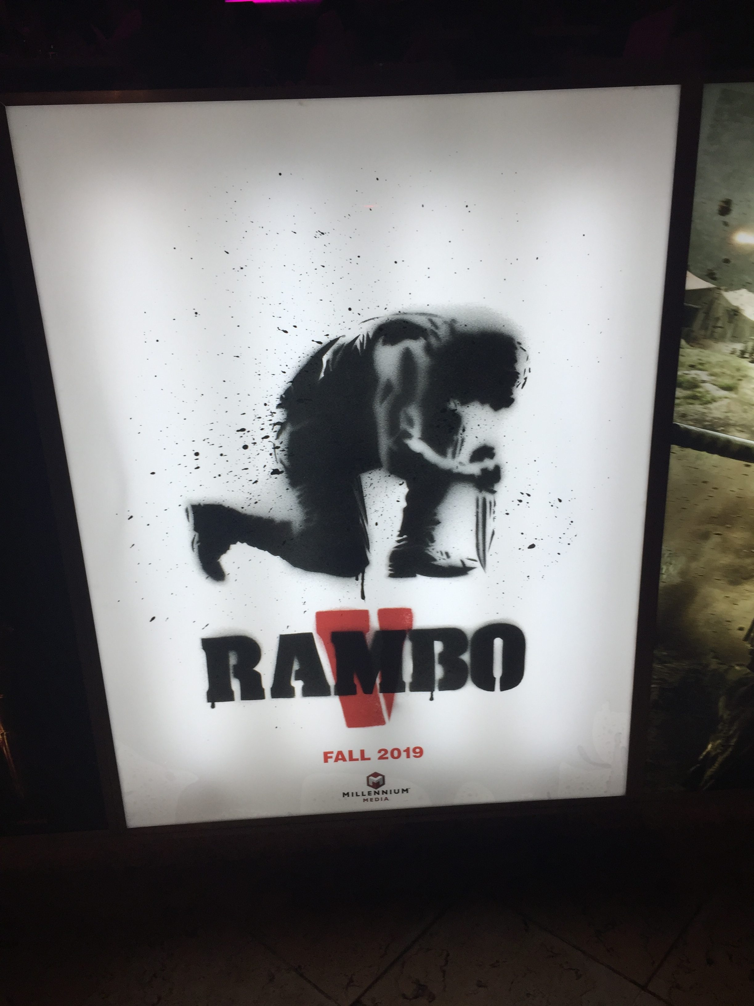 Rambo V Starring Sylvester Stallone Gets First Sales Art