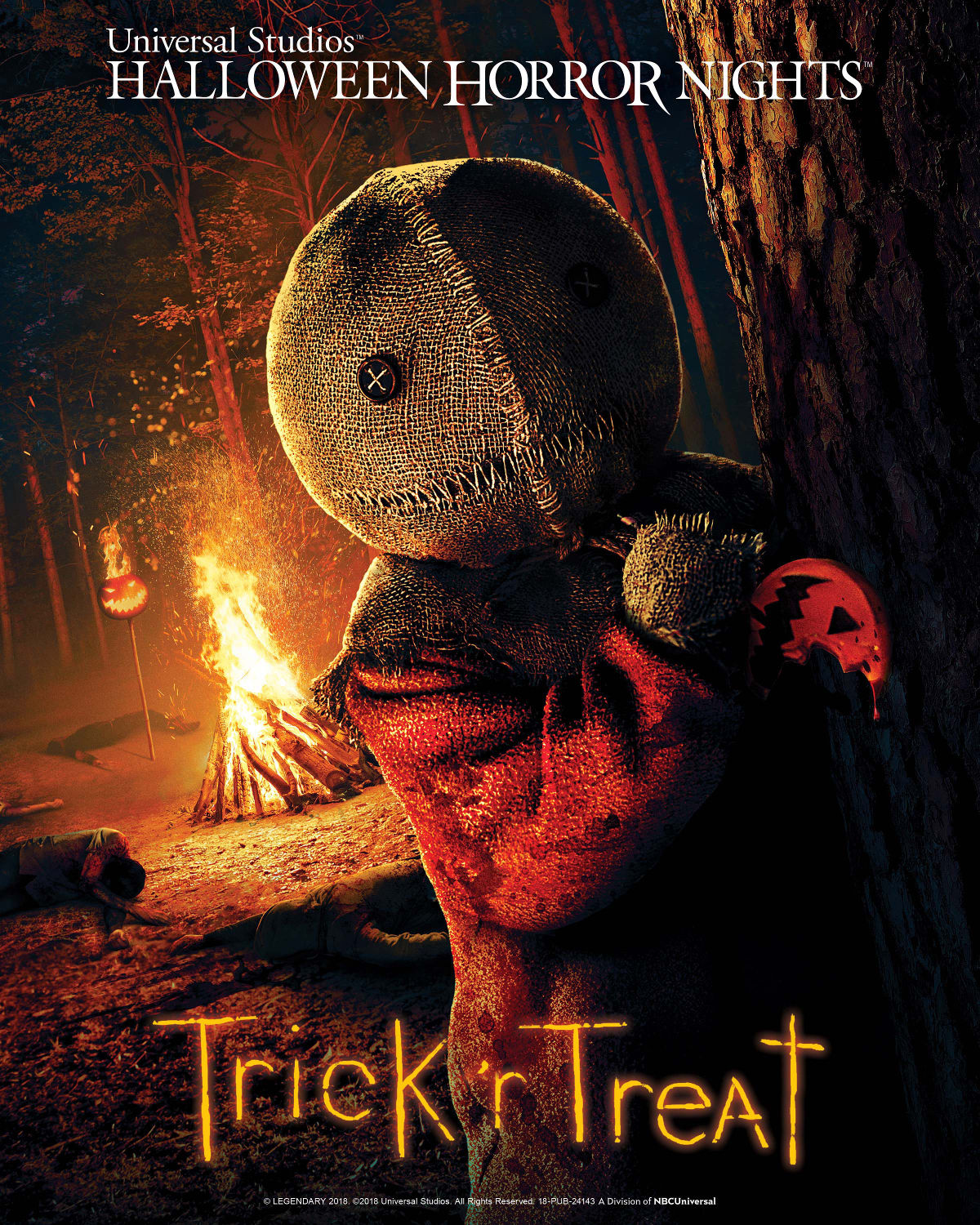 Trick r Treat Mazes Poster