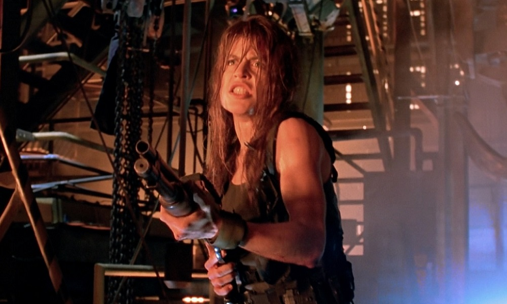 Linda Hamilton Returns as Sarah Connor to Fuck Shit Up in Terminator 6 Set Photo!