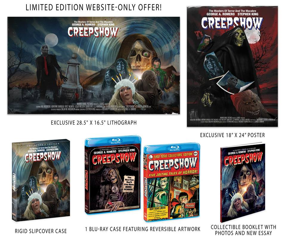 Creepshow Scream Factory Blu-Ray 1