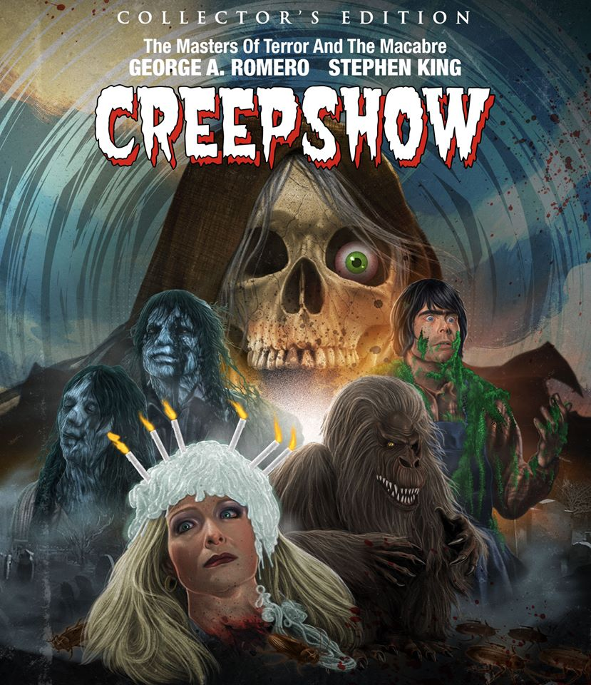 Creepshow Scream Factory Blu-Ray 2