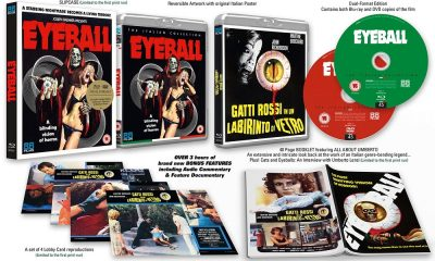 Umberto Lenzi's Gruesome Giallo Classic 'Eyeball' Gets Limited Edition (UK) Blu-Ray