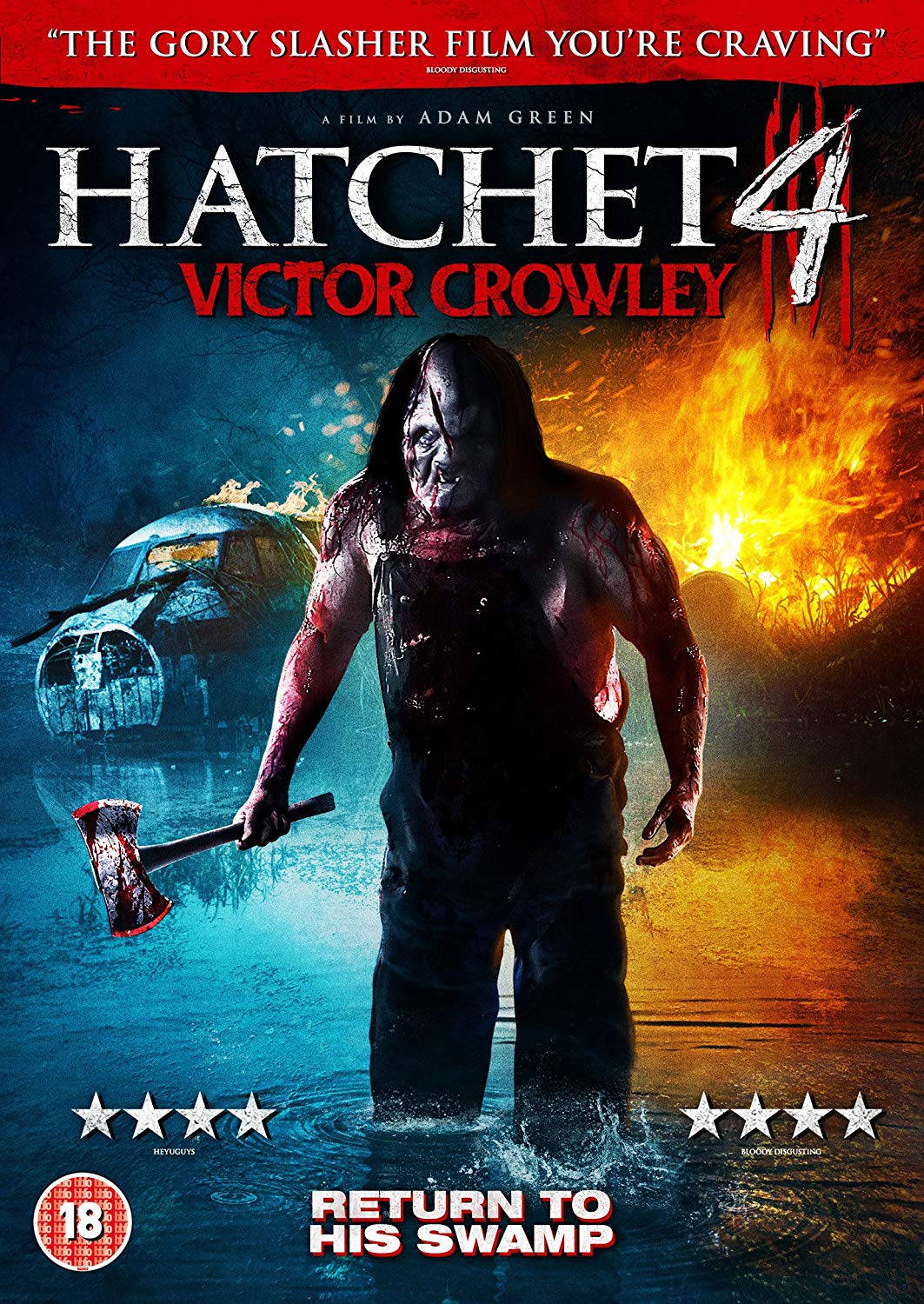 Hatchet 4 Victor Crowley UK DVD