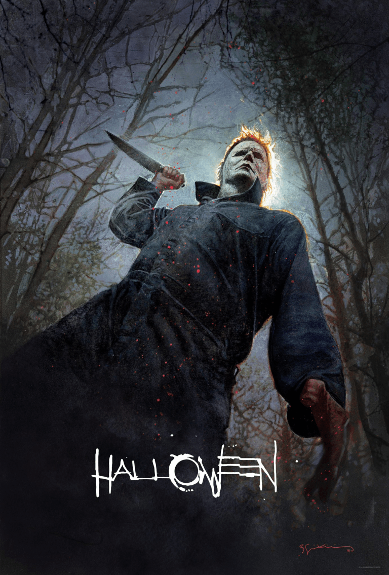 New Halloween 2018 Poster SDCC
