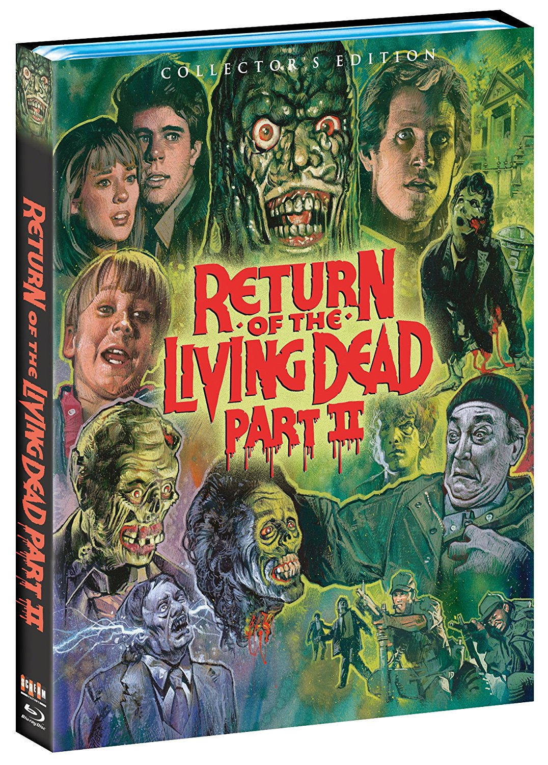 The Return of the Living Dead Part II SF Blu-Ray