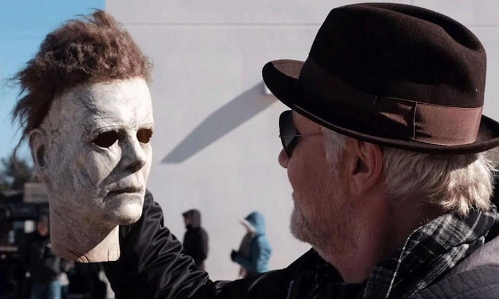 New Set Photo of 'Halloween' Mask Creator Christopher Nelson