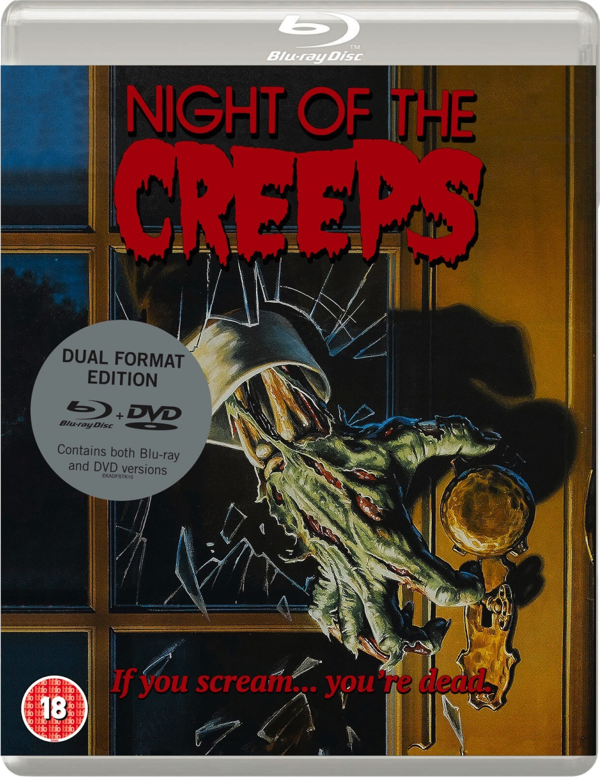 Night of the Creeps UK Blu-Ray 1