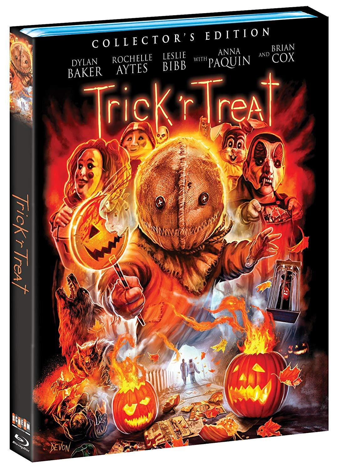 Trick r Treat Scream Factory Blu-Ray