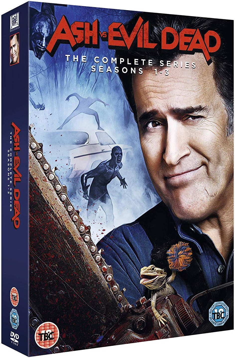 Ash vs Evil Dead Season 1-3 UK Blu-Ray Box Set