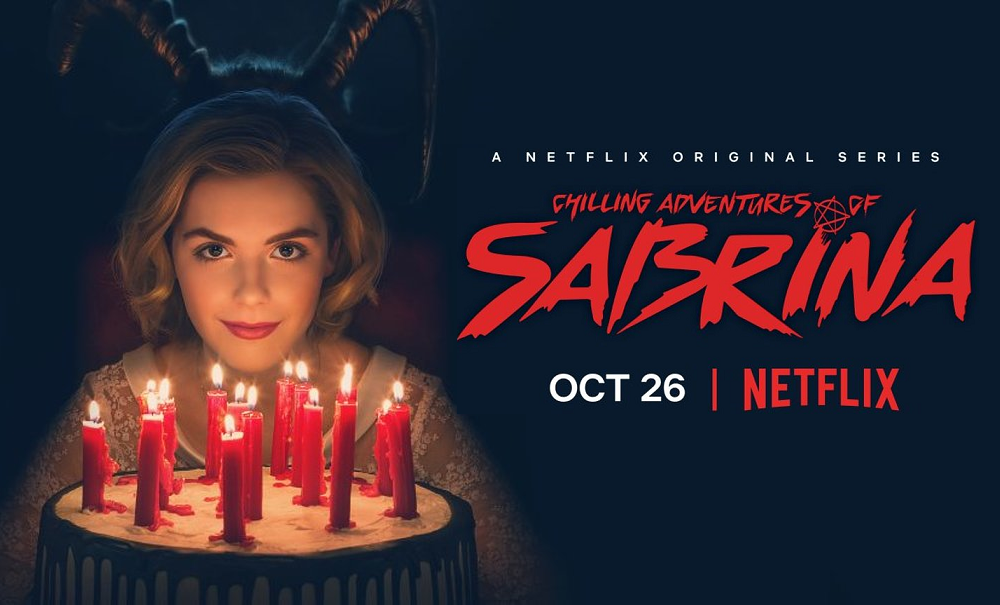 "Watch the Eerie Teaser Trailer for Netflix's ""Chilling Adventures of Sabrina"""