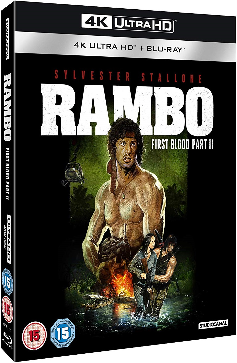 Rambo First Blood Part II 4K UK Blu-Ray