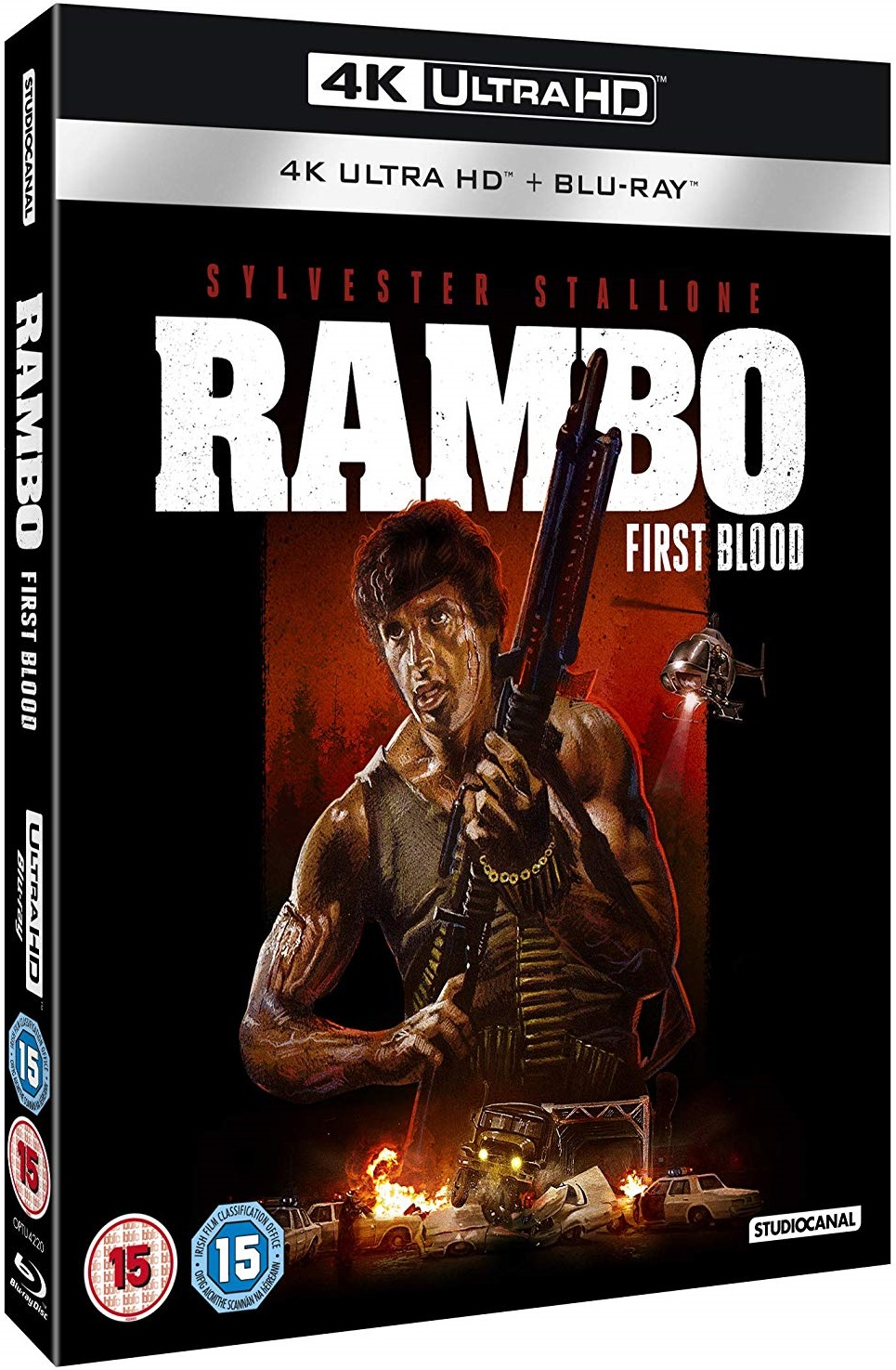 Rambo First Blood UK 4K Blu-Ray