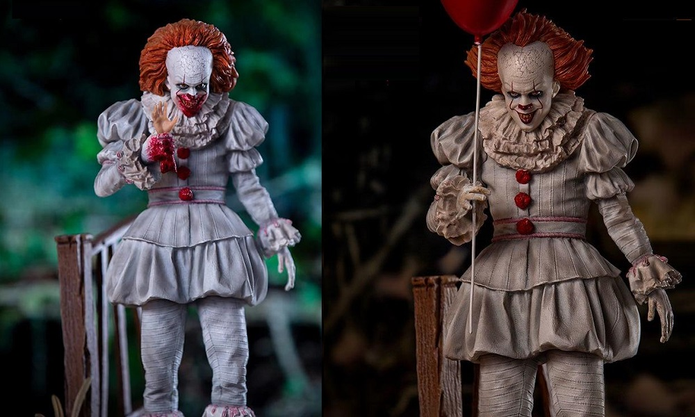 First Look at Iron Studios' Pennywise Deluxe Statue from Sideshow Collectibles