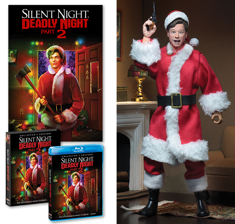 Silent Night, Deadly Night Part 2 Blu-Ray With Ricky Figure