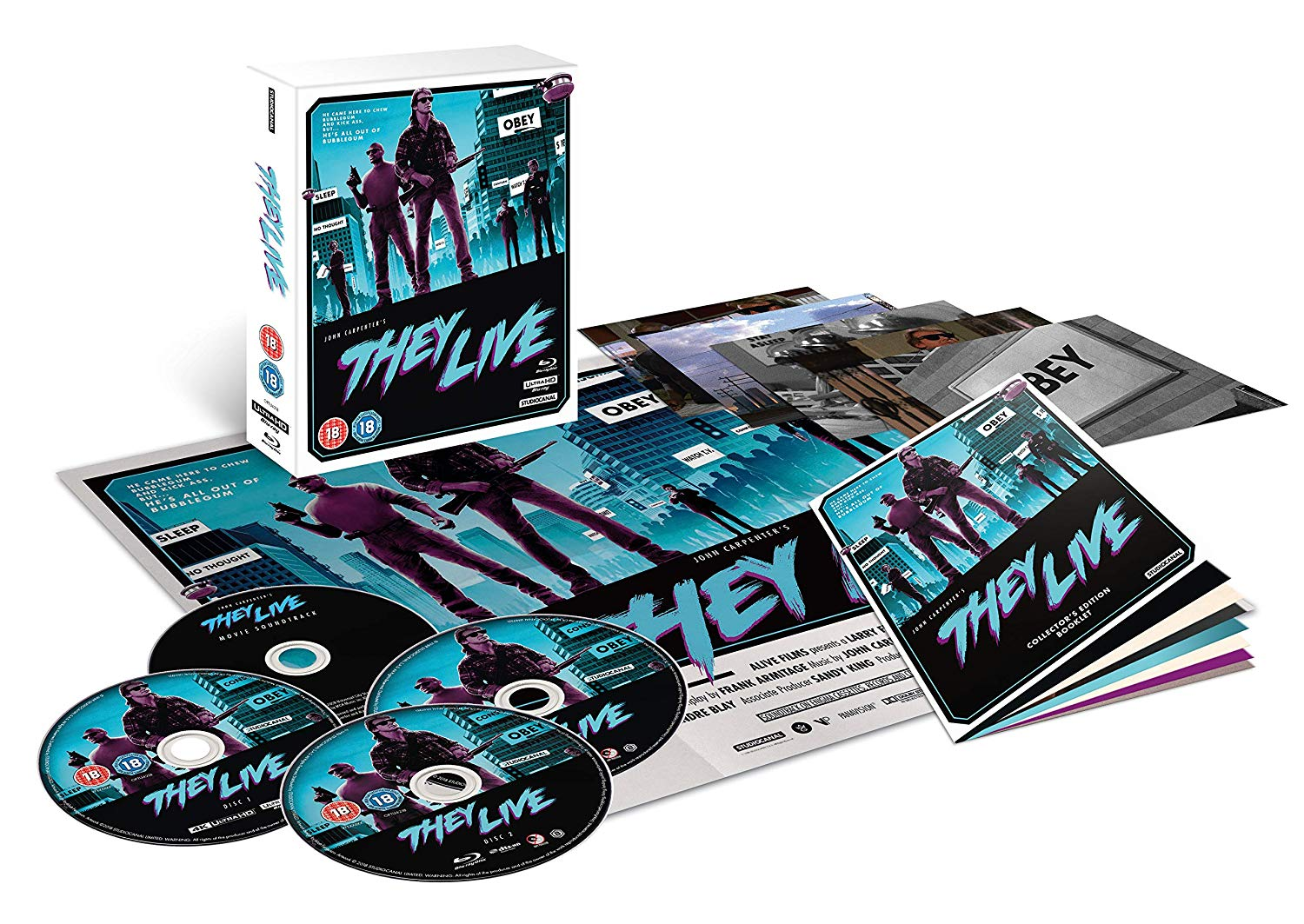 They Live 4K UK Blu-Ray Large