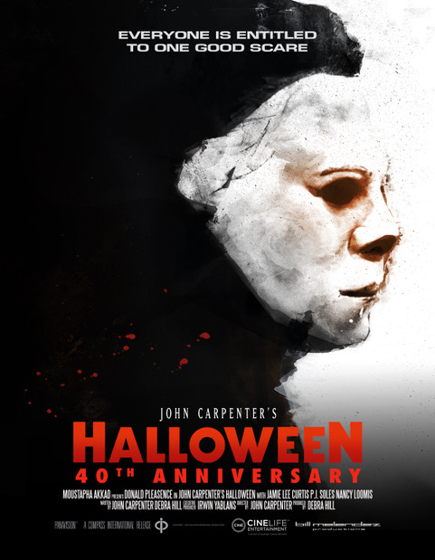 Halloween 40th UK Poster