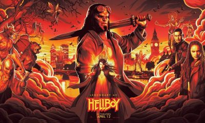 NYCC Debuts New Artwork for Neil Marshall's 'Hellboy' Reboot