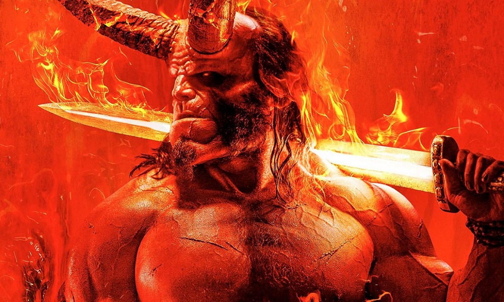 New Poster for Neil Marshall's 'Hellboy' Reboot Goes Up in Flames