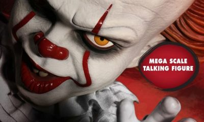 "Mezco Toyz Releasing New 15"" Mega Scale Talking Pennywise 'IT' Figure"
