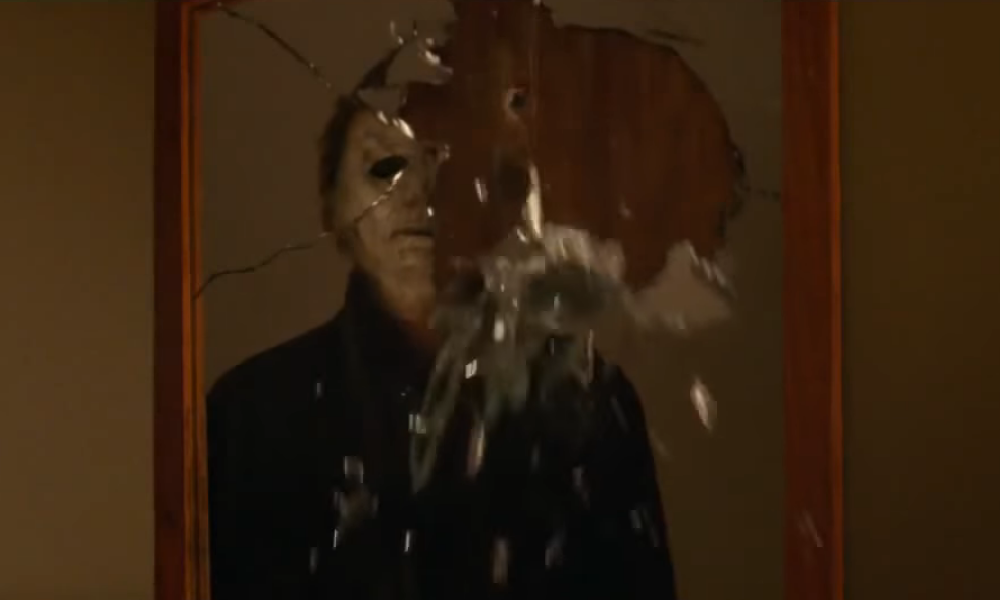 Watch Laurie Strode and Michael Myers Reunite in New 'Halloween' Clip